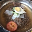 Naengmyeon (Cold Noodles) $9++