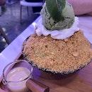 Green Tea Bingsu ($11.65 nett)