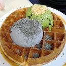 Black Sesame & Uji Matcha