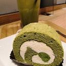 Matcha Roll Cake($6.80)👍