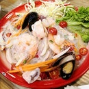 Glass Noodle Seafood Salad($15)👌