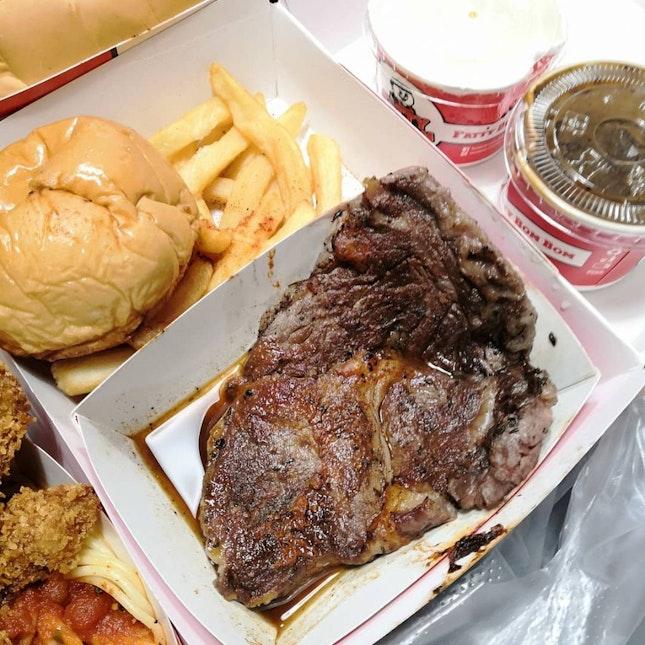 Fatty Bom Tender Beef Steak($13.50)