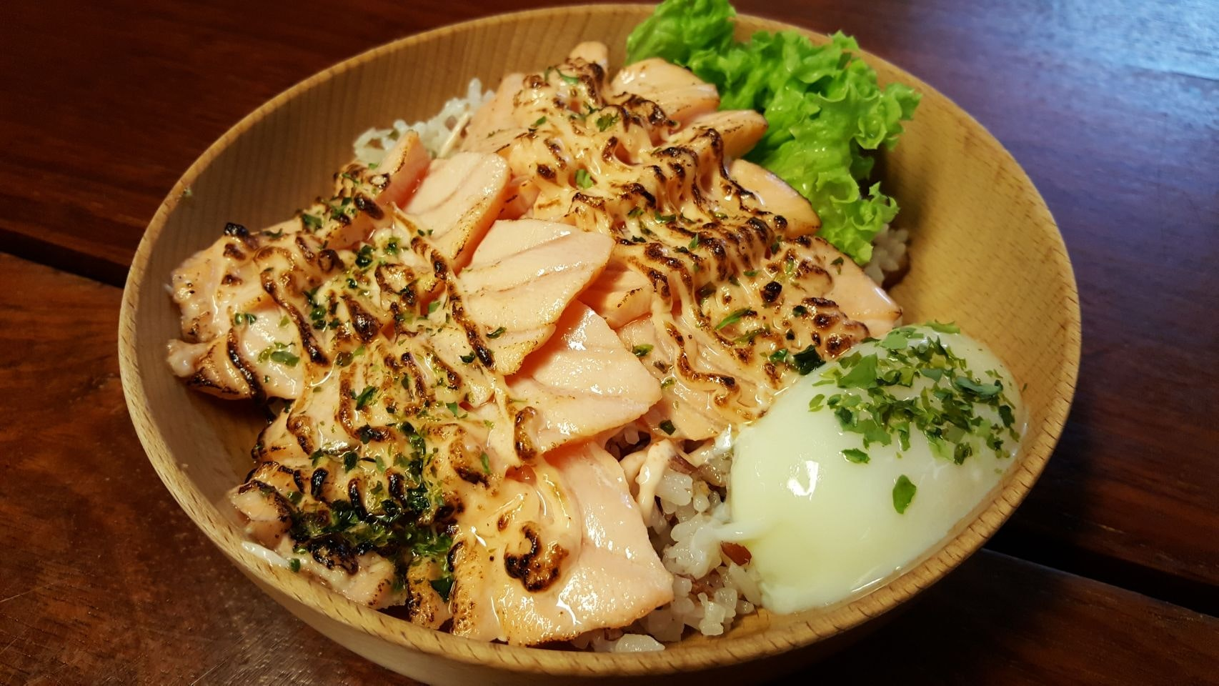 Delicious Salmon Donburi Bowls At Only $9.90