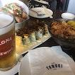 Chirashi, Maki, & Beer