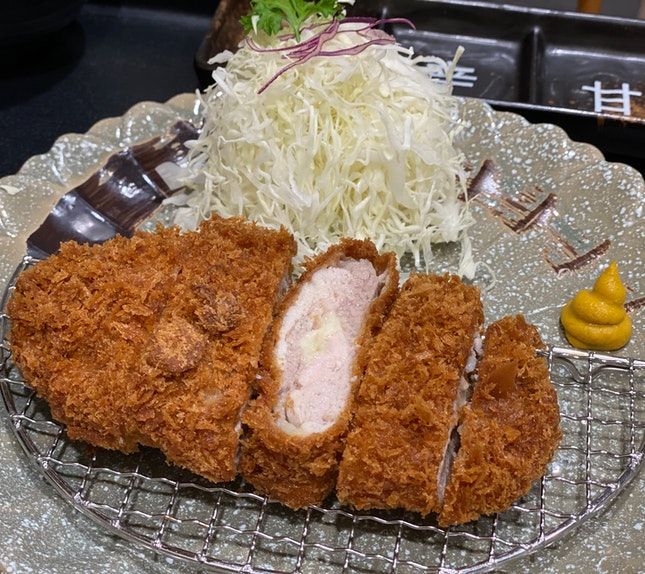 Cheesy Pork Katsu