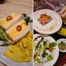 Egg Sando + Ultimate Egg Rice