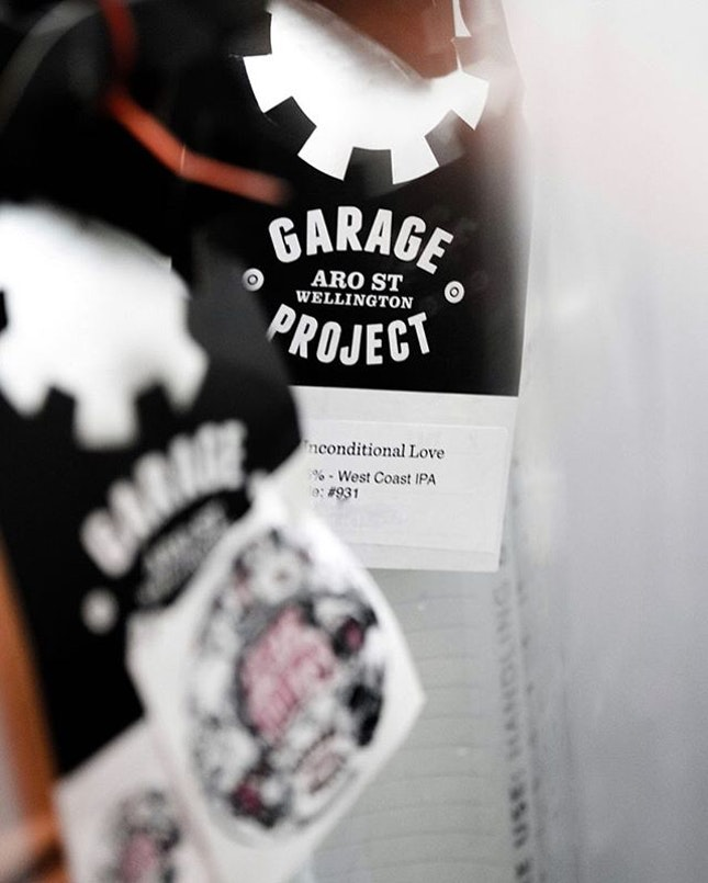 @goodluckbeerhouse will be launching these new @garageproject kegs today.