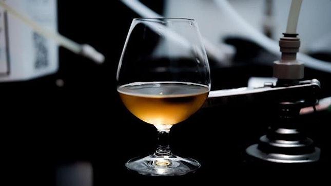 @brewlander Grace, that Lychee Red Date Tea Kölsch that @john_brewlander brewed in limited edition.