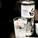Debut of @suntoryhakuvodka at the @cookandtras bar in @sixsensessingapore (Maxwell).