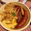 Paulaner Sausage Pan $26.90++