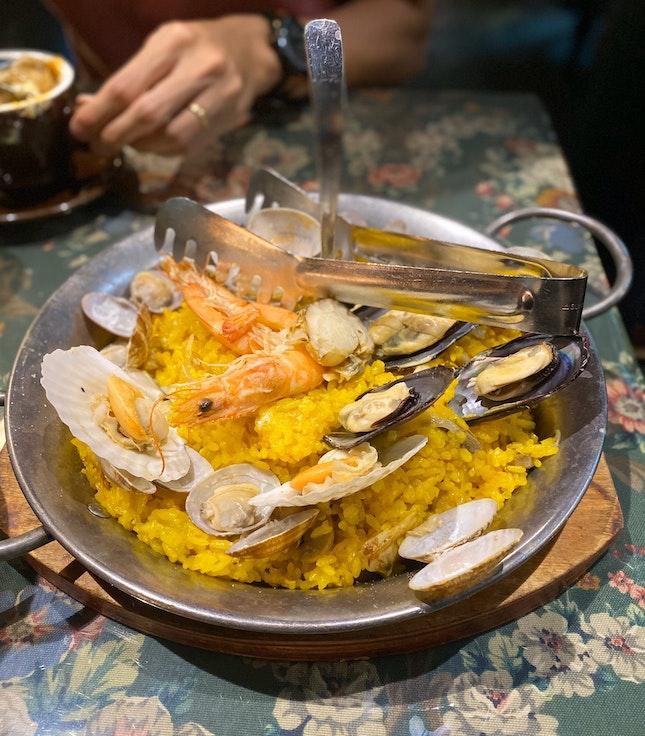Seafood Paella $26
