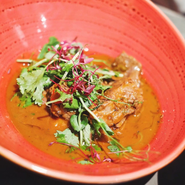 Caribbean Goat Curry ($28)