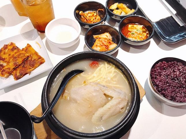 Korean Food In SG