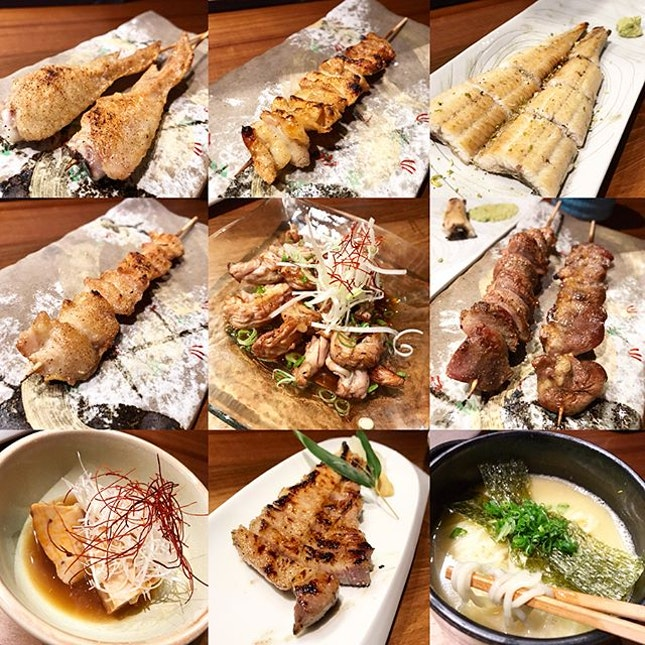 Absolutely amazed by the quality of the Yakitori @jinjosg 🔥🍢🍶🍖 / swipe for more 🎥📲.