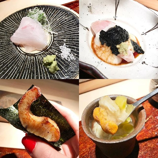 Kue <Kelp Grouper> aged for 10 days, weighs 16 kg, from Nagasaki // Buri <Japanese Amberjack caught wild in the winter > .