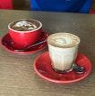 Chai Latte ($5.50), Mocha ($5.50)