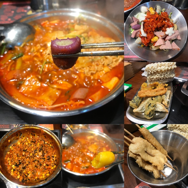 Tteokbokki Army Stew Buffet ($12.80++ Weekday Student Lunch, $13.80++ Adult Weekday Lunch, $18.80++ Otherwise)