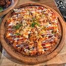 Okonomiyaki Flatbread Pizza ($25++)