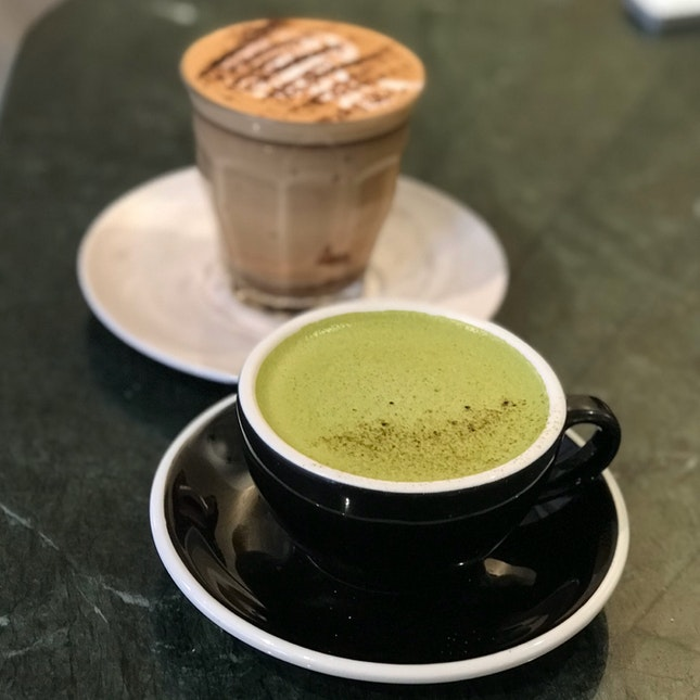Green Tea Latte ($6.50)