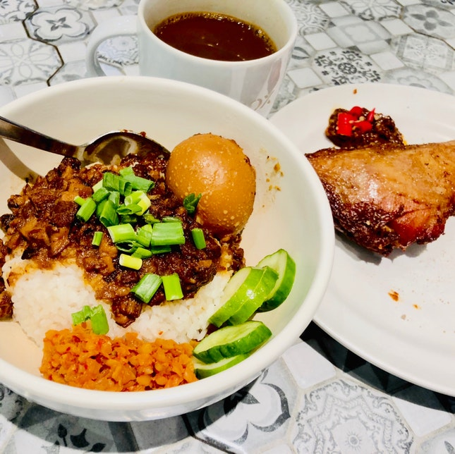 Drumstick Braised Pork Rice