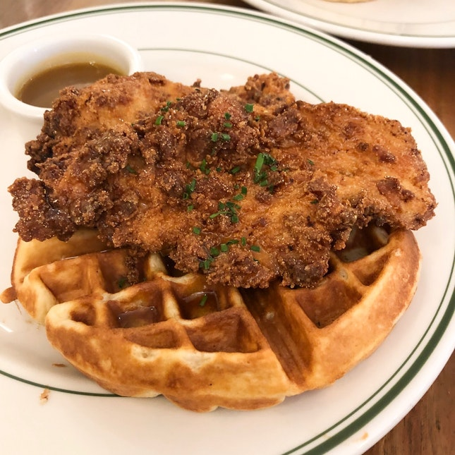 Chicken & Waffles $21