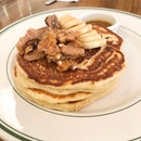 Banana Walnut Pancakes $19