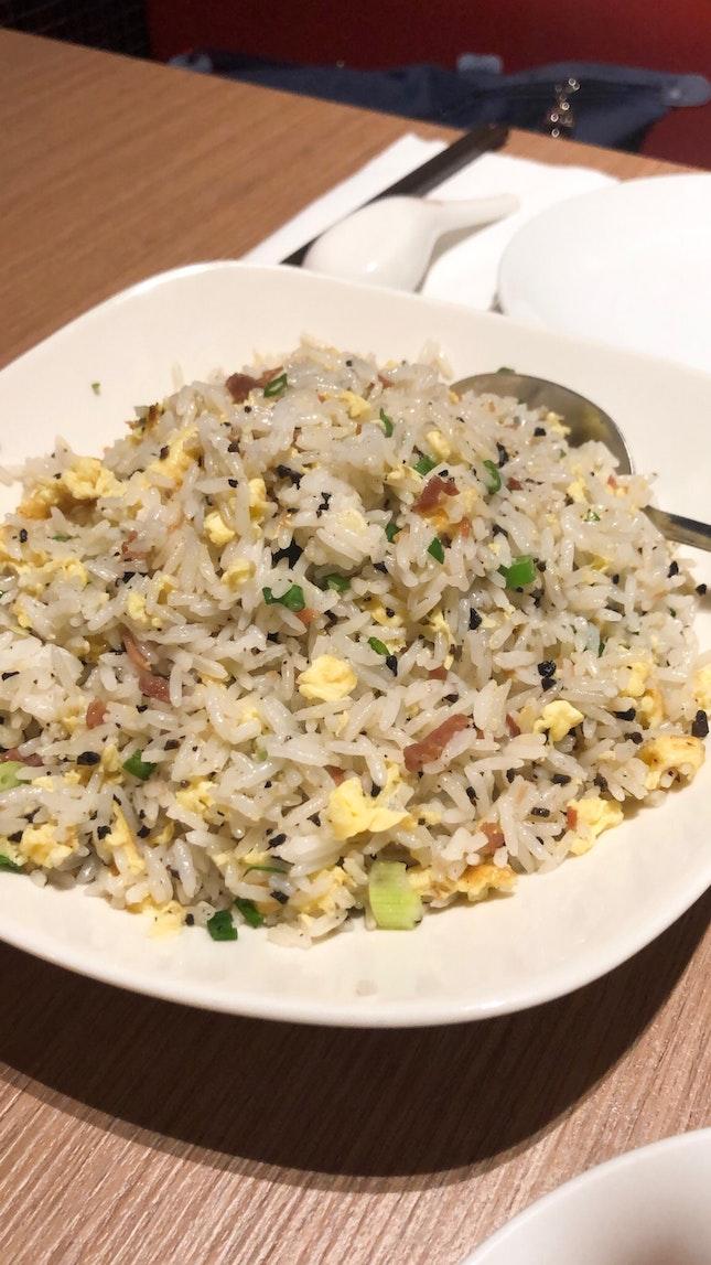 Black Truffle Yunnan Ham Fried Rice $13.80