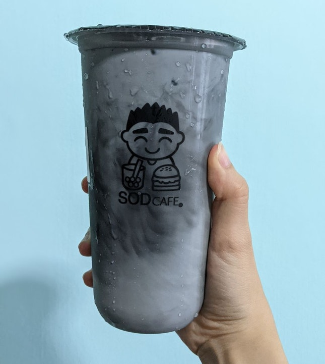 Tan Milk Tea (Activated Charcoal W/ Oolong)