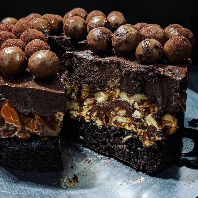 Chocolate Nut Doorstop