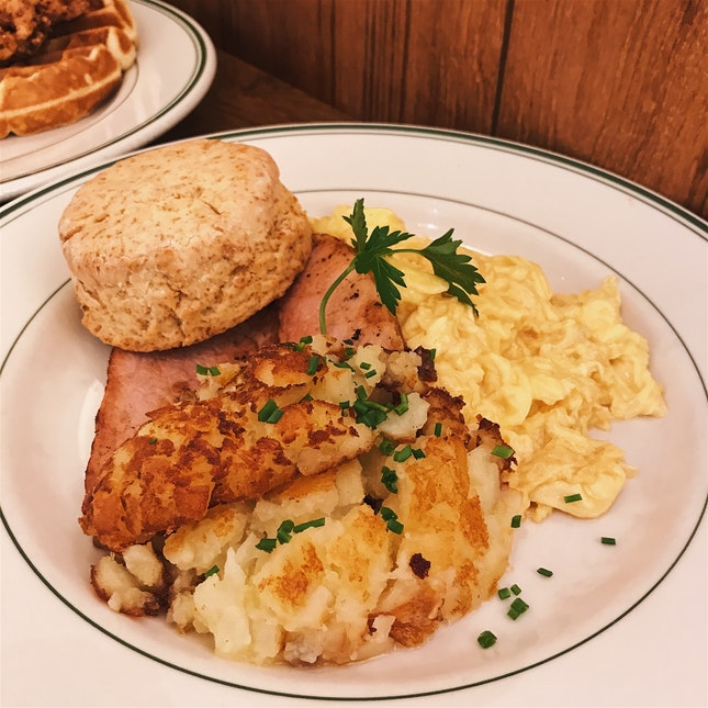 Country Breakfast Plate
