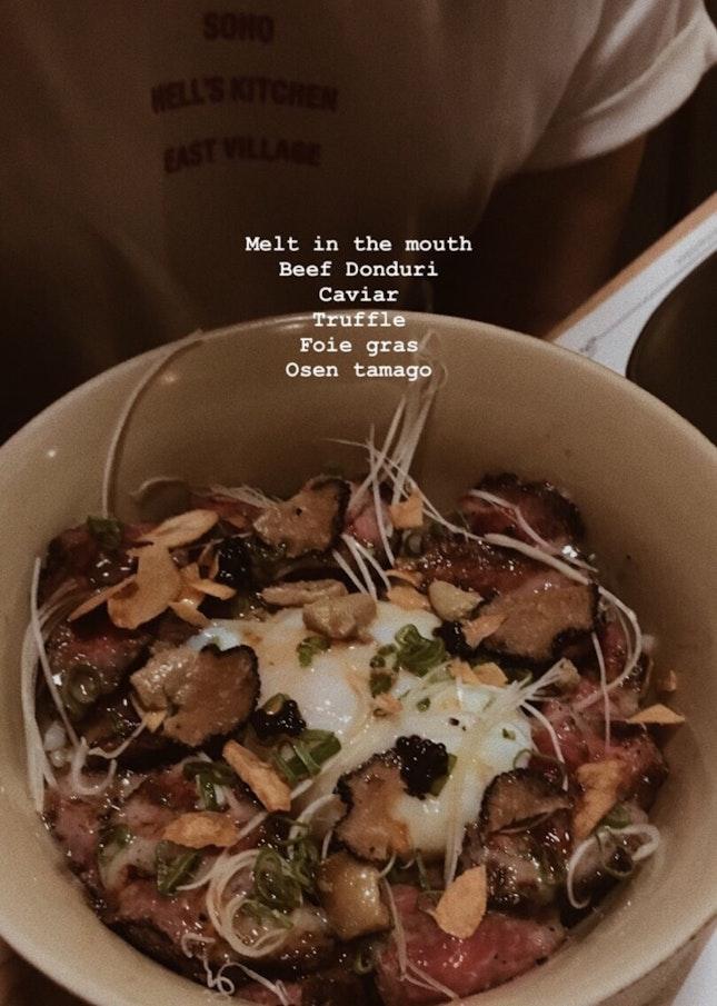 Beef Donburi RM59