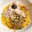 Yan Kee's Minced Pork Noodles ($4).