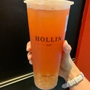 Pink Guava Green Tea With Honey pearls ($4.60)