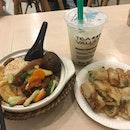 Eel Rice + Chicken Floss Snack + Jasmine Milk Tea ($17.70)