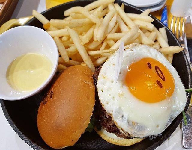 Beef burger!