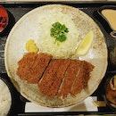 (Large) Kurobuta Katsu (black pig pork loin) set - $23!