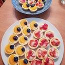 Fruit tarts!