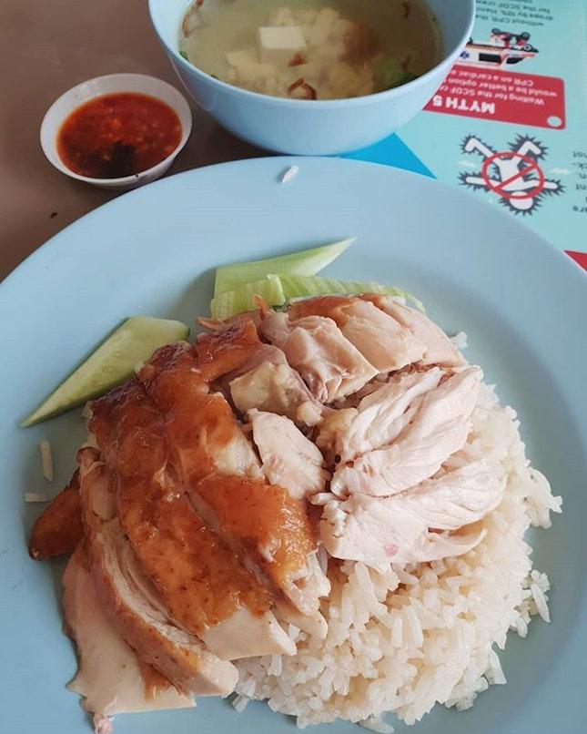 烧鸡饭 ($3) 😋 .