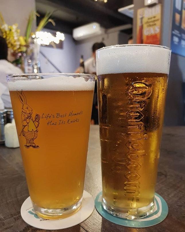 Kwirk (full pint: $11+) & Oranjeboom (full pint: $10+), tgif!