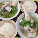 Fish soup with rice ($7.50 each)!