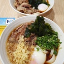 Sanuki beef egg udon (promo: $9.80 each)!