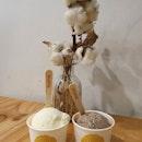 Coconut & Oreo milk ice cream (burpple beyond: $3.50)!