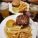 Make your own burger & Hoegaarden ($51.55)!