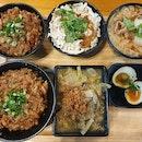 卤肉饭套餐 ($8) & 呷三碗 ($12)!