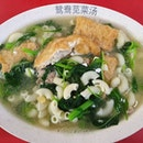 苋菜酿豆腐汤 ($3.80) + 通心粉 ($0.50)!