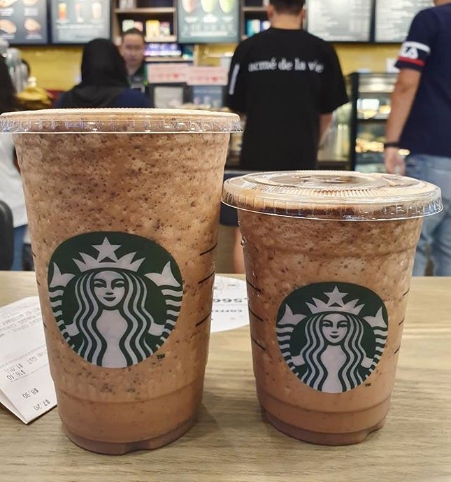 Java Chip (Tall: $7.20; Venti: $8.90)!