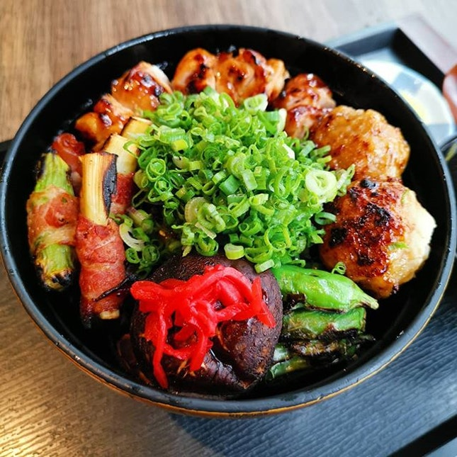 End the year right with a yakitori don!