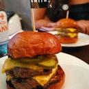 2 X juicy patties between crispy buns 😍 This meat lovers is satisfied @meatsmith_sg .