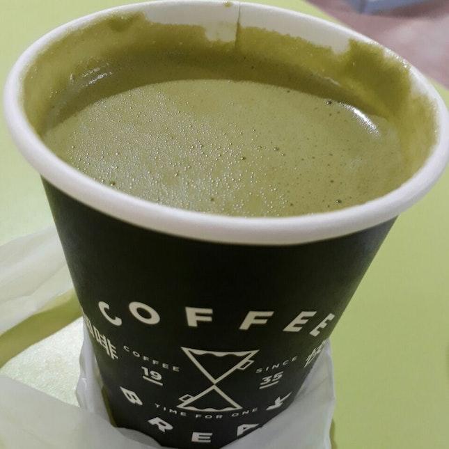 Terrible Green Tea Latte