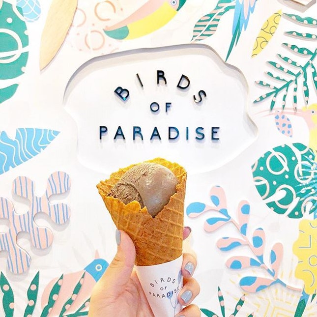 📍Birds of Paradise Gelato Boutique  I've wanted to try this since I saw it on Michelin Guide!